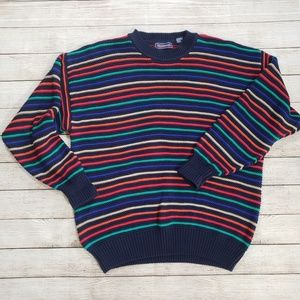 Hathaway XL Striped Sweater Vintage style
